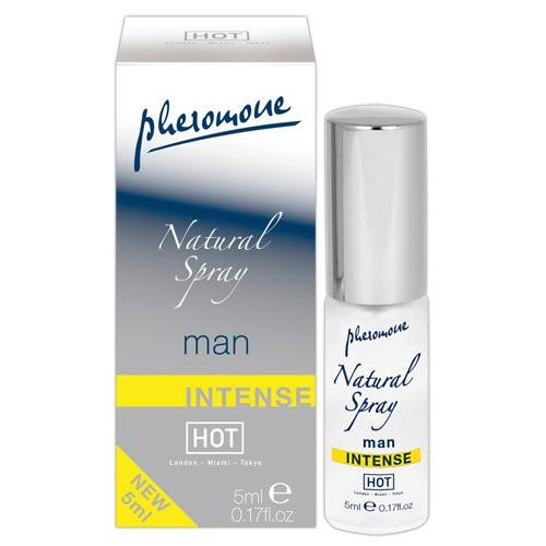 Feromonai Hot Man natural spray Intense 5 ml